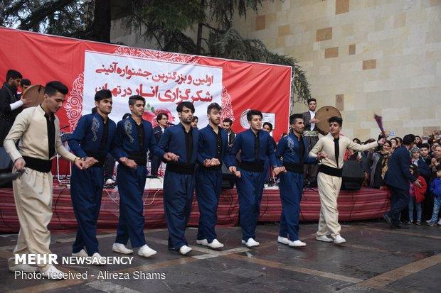 جشنواره انار در کاخ نیاوران