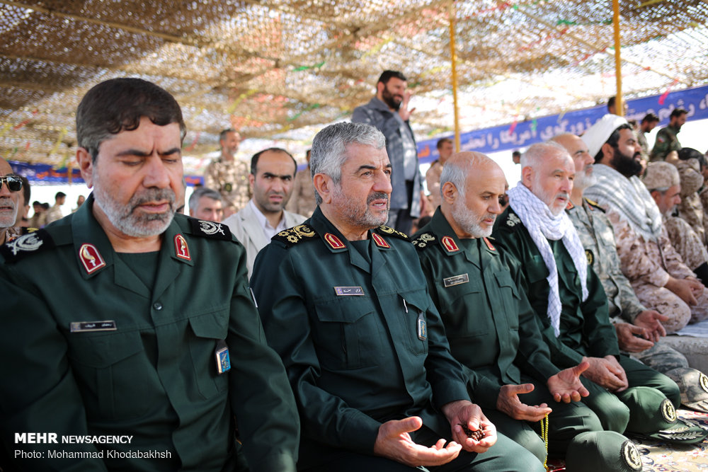 IRGC 'Great Prophet-12' military drills on Qeshm island