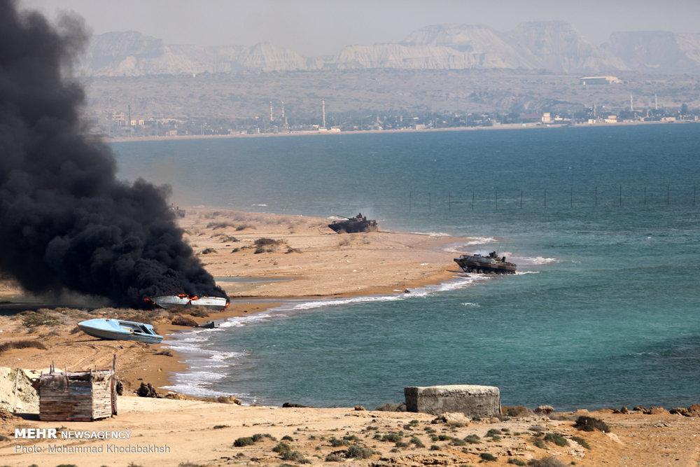 IRGC 'Great Prophet-12' military drills on Qeshm island