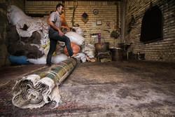 هنر نمدمالی سنتی روستای ده بهار طارم احیا می شود