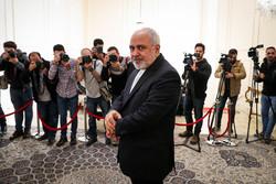 دیدار رئیس هیات پارلمانی فلسطین با وزیر امور خارجه ایران