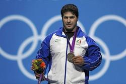 İranlı halterci 6 yıl aradan sonra olimpiyat şampiyonu oldu