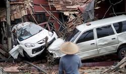 مرگ ۱۶۸ نفر به دنبال سونامی اندونزی