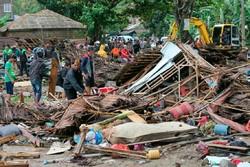 انڈونیشیا میں تباہ کن سونامی سے ہلاک ہونے والے افراد کی تعداد 222 تک پہنچ گئی