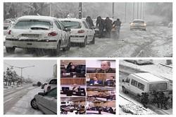 «برف» به صحن شورای شهر همدان رسید/دادگاه؛ مانعی برای حضور شهردار
