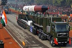 هند موشک بالستیک با توانایی حمل کلاهک هستهای آزمایش کرد