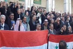 برگزاری تظاهرات ضد ترکیه در قامشلی سوریه