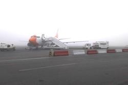 پروازهای فرودگاه مشهد به حالت تعلیق درآمد