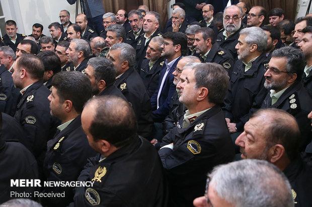 قائد الثورة سيتقبل قادة ومنتسبين في الشرطة الايرانية