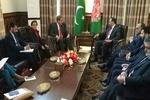 وزیر خارجه پاکستان وارد کابل شد/ دیدار با همتای افغان