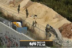 فلم/ حزب اللہ کے خوف سے اسرائیلی فوج نے ٹنل تباہ کردیا