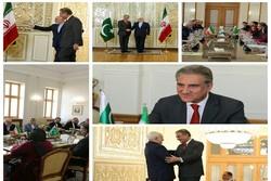 ظريف يلتقي بنظيره الباكستاني في طهران