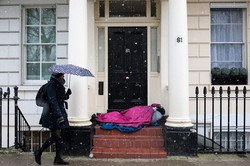 وجود بیش از ۱۷۰ هزار بی خانمان در انگلیس/ بالاترین سطح آوارگی در ایام سال نو