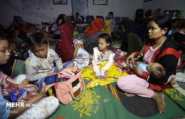 تسونامي في اندونيسيا