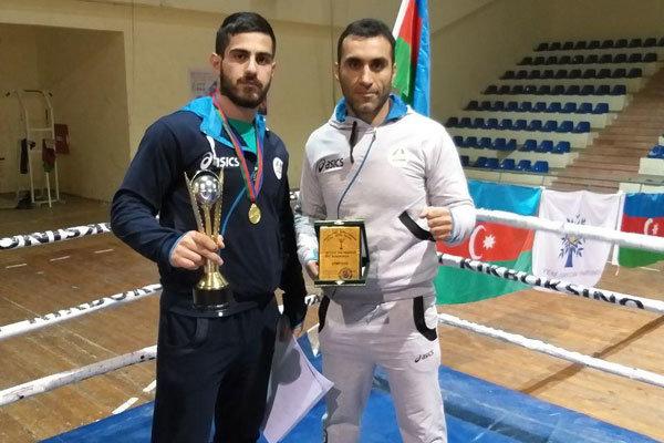 الرياضيون الايرانيون يحصدون عدداً من الذهبيات في مسابقات اذربيجان للفنون القتالية