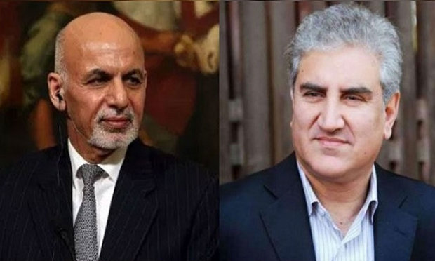 پاکستان کے وزير خارجہ کی افغان صدر اشرف غنی سے ملاقات