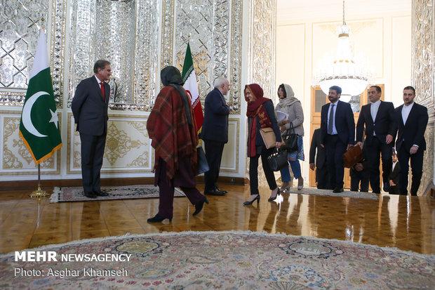دیدار وزیر امور خارجه پاکستان با ظریف