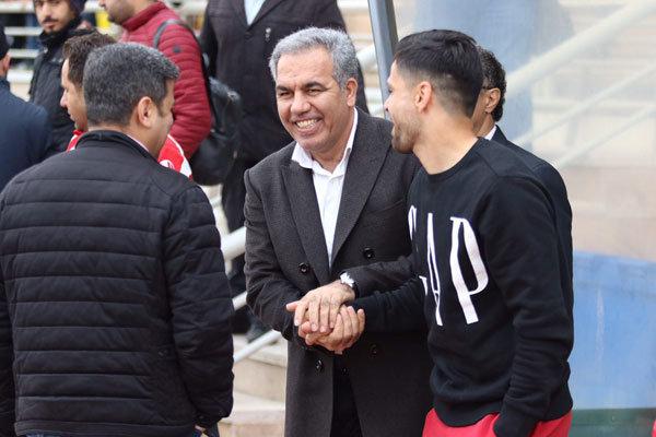 سرپرست باشگاه پرسپولیس در تمرین سرخپوشان حاضر شد
