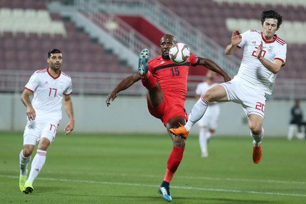 Iran 1–1 Palestine in friendly match
