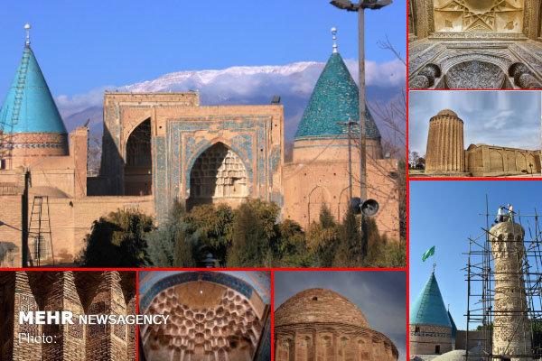 ۵۰ اثر تاریخی ایران در فهرست موقت ثبت جهانی قرار گرفت