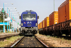 حمل کالا با راه آهن در شبکه ریلی ۱۷ درصد افزایش یافته است