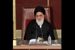 مراسم ترحیم آیتالله هاشمی شاهرودی در مسجد ارک تهران برگزار شد