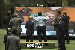 اعتراض شدید نمایندگان مجلس هنگام صحبتهای رئیس جمهور