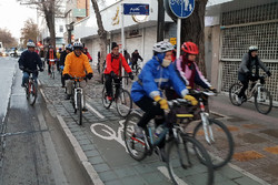 ۵۰ کیلومتر مسیر دوچرخه سواری در شهر قزوین ایجاد شده است