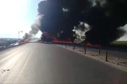 انفجار تانکر نفت در حمیل/ تلفات جانی نداشتیم