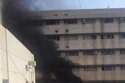آتش سوزی در کاظمین عراق