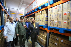 افتتاح فاز جدید بیمارستان فوق تخصصی چمران با حضور وزیر دفاع