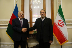 Larijani meets with Azerbaijani counterpart