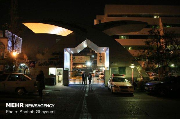 حضور مسئولین در بیمارستان خاتم الانبیا