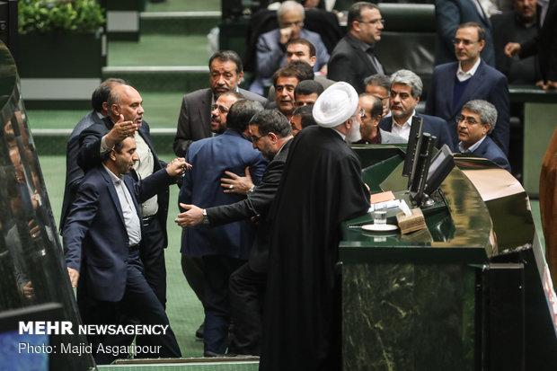 جلسة مجلس الشورى الإسلامي اليوم المخصصة حول الميزانية
