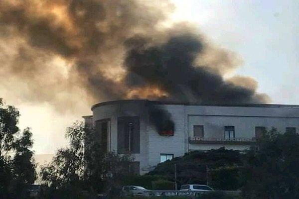 Gunmen attack Libya's foreign ministry HQ in Tripoli