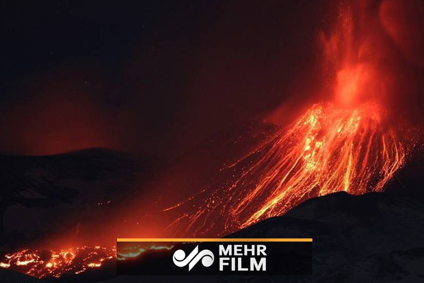VIDEO: Italy's most active volcano erupts ash, lava