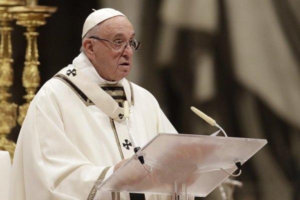 بابا الفاتيكان يعرب عن مواساته لذوي ضحايا سيول ايران