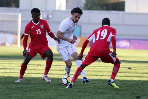 Iran U-23 held by Jordan in friendly