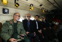 أعضاء لجنة الأمن القومي يزورون الحدود الايرانية-العراقية / صور