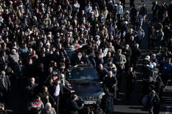 Ayetullah Haşimi Şahrudi'nin cenaze töreninden fotoğraflar