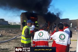 مانور امداد و نجات در استان بوشهر