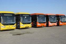 95% of Tehran buses get technical inspection stickers