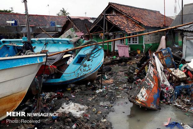 افزایش تلفات سونامی اندونزی