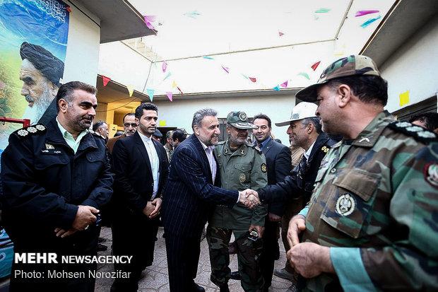 أعضاء لجنة الامن القومي يزورون الحدود الايرانية-العراقية
