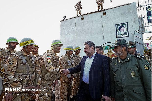 Iranian MPs visit border post, patrol bases