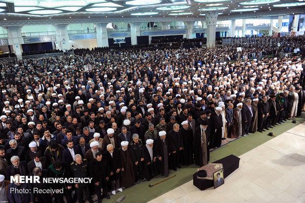 مراسم تشييع و اقامه نماز بر پيکر مرحوم آيت الله هاشميشاهرودي