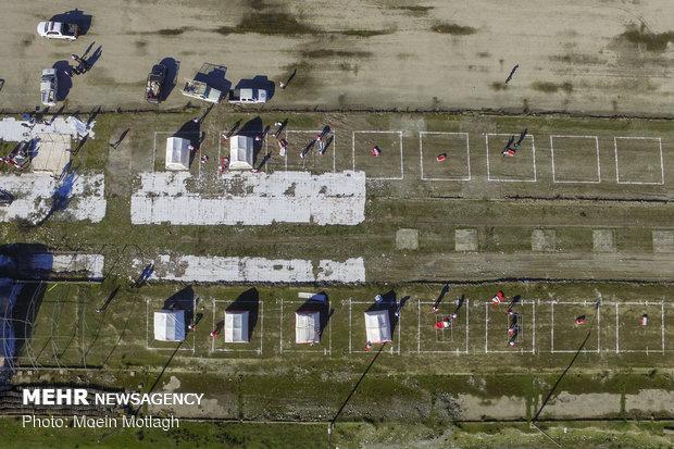 مانور زلزله به مناسبت روز ملی ایمنی در برابر زلزله در بندرگز