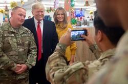 ترامپ دیدار با نظامیان را با کارزار انتخاباتی اشتباه گرفته است