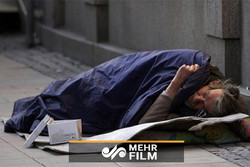 کریسمس سرد برای کهنه سرباز بیخانمان انگلیسی