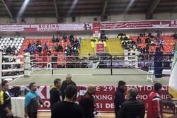 مراسم افتتاحیه مسابقات بوکس جوانان قهرمانی کشور